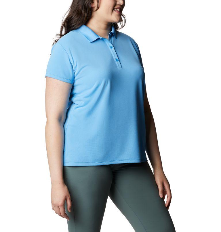 Innisfree™ SS Polo | 475 | 3X Women's PFG Innisfree™ Short Sleeve Polo Shirt - Plus Size, Yacht, a3