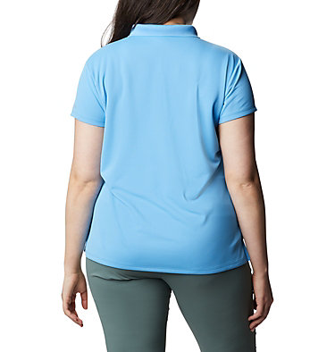 Women's PFG Innisfree™ Short Sleeve Polo Shirt - Plus Size Innisfree™ SS Polo | 383 | 1X, Yacht, back