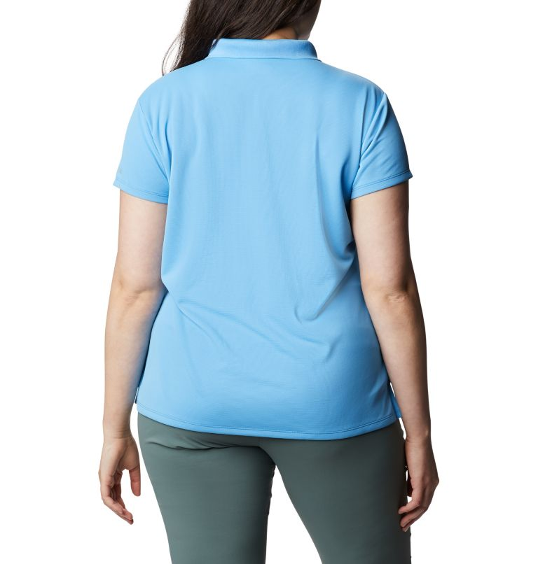 Women's PFG Innisfree™ Short Sleeve Polo Shirt - Plus Size Women's PFG Innisfree™ Short Sleeve Polo Shirt - Plus Size, back