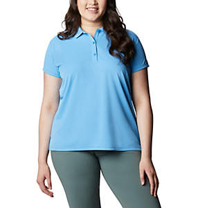 Women's PFG Innisfree™ Short Sleeve Polo Shirt - Plus Size