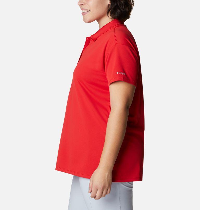 Innisfree™ SS Polo | 696 | 1X Women's PFG Innisfree™ Short Sleeve Polo Shirt - Plus Size, Red Spark, a1