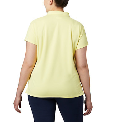 Women's PFG Innisfree™ Short Sleeve Polo Shirt - Plus Size Innisfree™ SS Polo | 383 | 1X, Sunnyside, back
