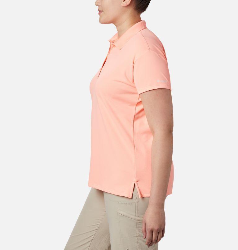 Innisfree™ SS Polo | 807 | 3X Women's PFG Innisfree™ Short Sleeve Polo Shirt - Plus Size, Tiki Pink, a1