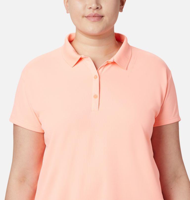 Innisfree™ SS Polo | 807 | 3X Women's PFG Innisfree™ Short Sleeve Polo Shirt - Plus Size, Tiki Pink, a3