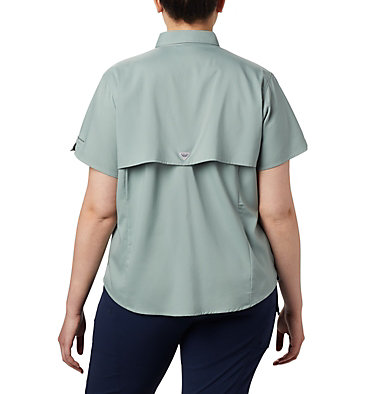 Women's PFG Tamiami™ II Short Sleeve Shirt - Plus Size Womens Tamiami™ II SS Shirt | 658 | 1X, Light Lichen, back