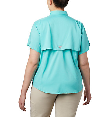 Women's PFG Tamiami™ II Short Sleeve Shirt - Plus Size Womens Tamiami™ II SS Shirt | 658 | 1X, Dolphin, back