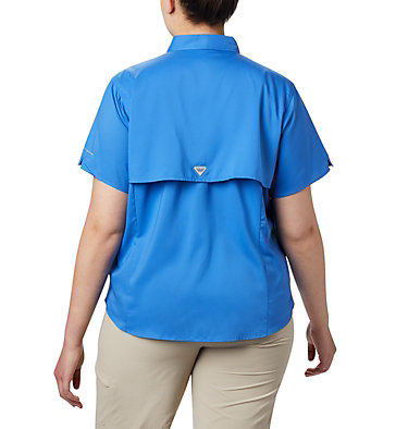 Women's PFG Tamiami™ II Short Sleeve Shirt - Plus Size Womens Tamiami™ II SS Shirt | 658 | 1X, Stormy Blue, back