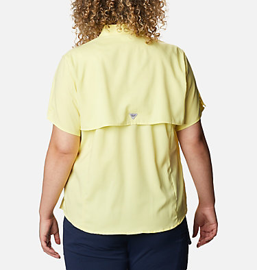 Women's PFG Tamiami™ II Short Sleeve Shirt - Plus Size Womens Tamiami™ II SS Shirt | 305 | 1X, Sunnyside, back