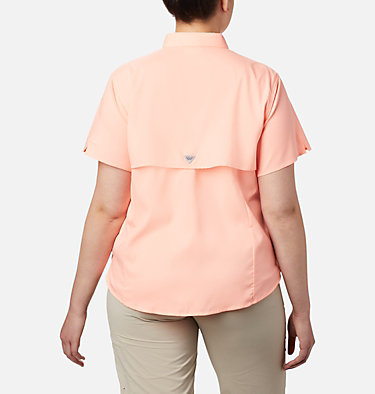 Women's PFG Tamiami™ II Short Sleeve Shirt - Plus Size Womens Tamiami™ II SS Shirt | 658 | 1X, Tiki Pink, back