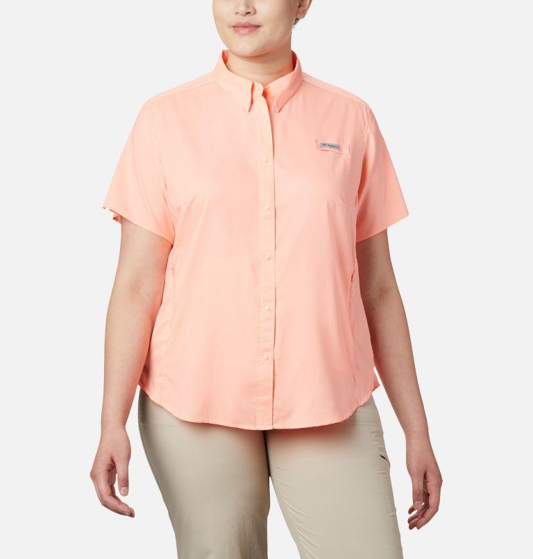 Women's PFG Tamiami™ II Short Sleeve Shirt - Plus Size Women's PFG Tamiami™ II Short Sleeve Shirt - Plus Size, front