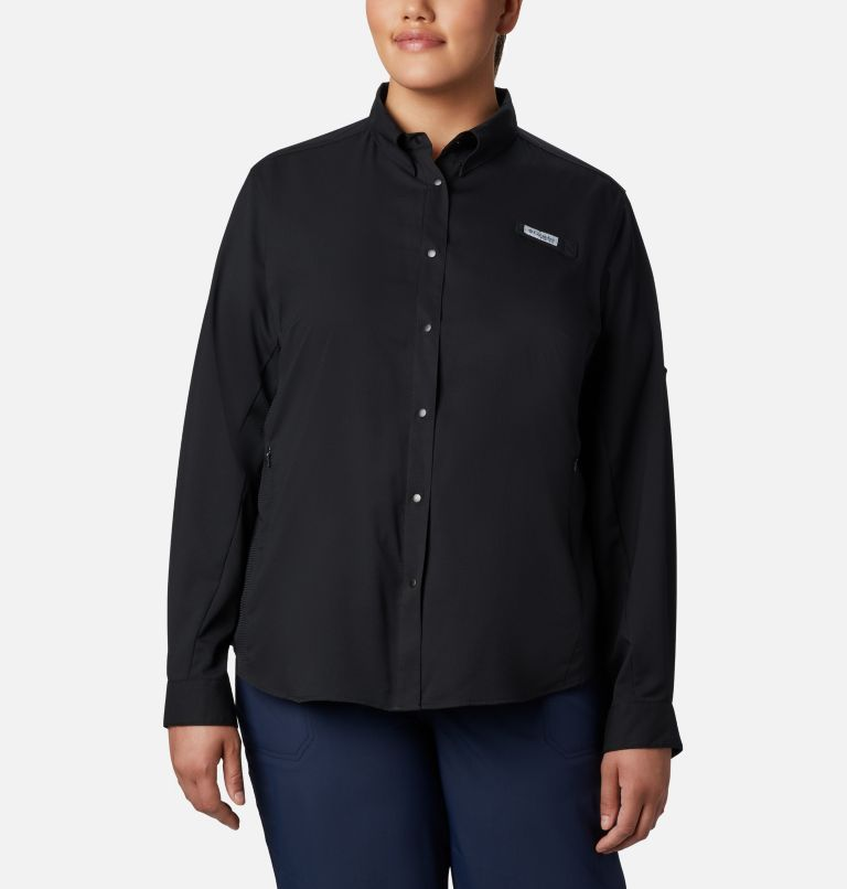 Women's PFG Tamiami™ II Long Sleeve Shirt - Plus Size Women's PFG Tamiami™ II Long Sleeve Shirt - Plus Size, front
