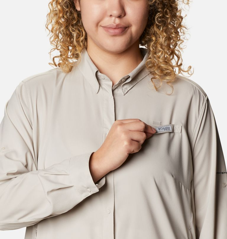 Women's PFG Tamiami™ II Long Sleeve Shirt - Plus Size Women's PFG Tamiami™ II Long Sleeve Shirt - Plus Size, a2