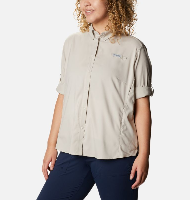 Women's PFG Tamiami™ II Long Sleeve Shirt - Plus Size Women's PFG Tamiami™ II Long Sleeve Shirt - Plus Size, a4
