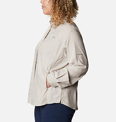 Women's PFG Tamiami™ II Long Sleeve Shirt - Plus Size Womens Tamiami™ II LS Shirt | 658 | 1X, Light Cloud, back