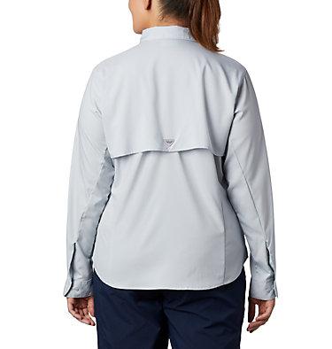Women's PFG Tamiami™ II Long Sleeve Shirt - Plus Size Womens Tamiami™ II LS Shirt | 658 | 1X, Cirrus Grey, back