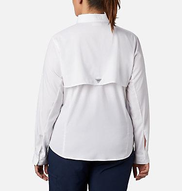 Women's PFG Tamiami™ II Long Sleeve Shirt - Plus Size Womens Tamiami™ II LS Shirt | 658 | 1X, White, back
