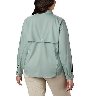 Women's PFG Tamiami™ II Long Sleeve Shirt - Plus Size Womens Tamiami™ II LS Shirt | 658 | 1X, Light Lichen, back