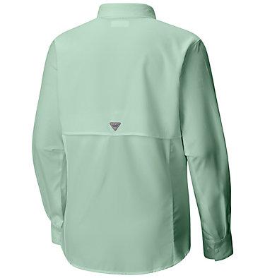 Women's PFG Tamiami™ II Long Sleeve Shirt - Plus Size Womens Tamiami™ II LS Shirt | 658 | 1X, Light Mint, back
