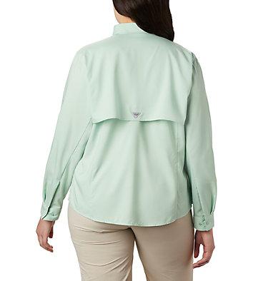 Women's PFG Tamiami™ II Long Sleeve Shirt - Plus Size Womens Tamiami™ II LS Shirt | 658 | 1X, New Mint, back