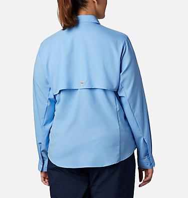 Women's PFG Tamiami™ II Long Sleeve Shirt - Plus Size Womens Tamiami™ II LS Shirt | 658 | 1X, White Cap, back