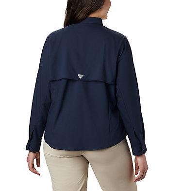 Women's PFG Tamiami™ II Long Sleeve Shirt - Plus Size Womens Tamiami™ II LS Shirt | 658 | 1X, Collegiate Navy, back