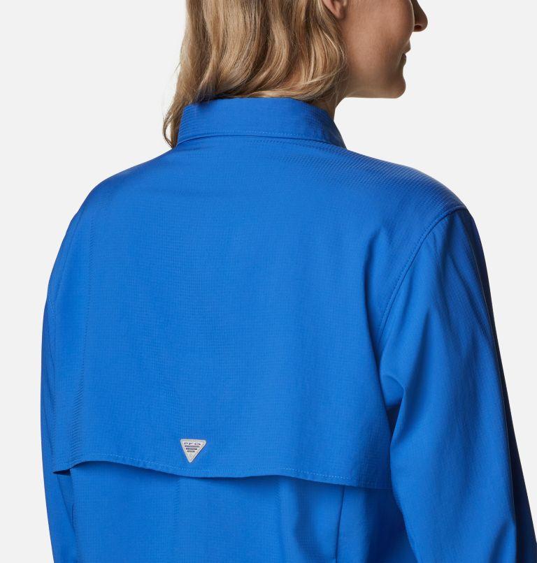 Womens Tamiami™ II LS Shirt   487   3X Women's PFG Tamiami™ II Long Sleeve Shirt - Plus Size, Vivid Blue, a3