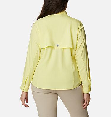 Women's PFG Tamiami™ II Long Sleeve Shirt - Plus Size Womens Tamiami™ II LS Shirt | 658 | 1X, Sunnyside, back