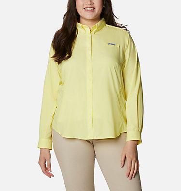 Women's PFG Tamiami™ II Long Sleeve Shirt - Plus Size Womens Tamiami™ II LS Shirt | 658 | 1X, Sunnyside, front