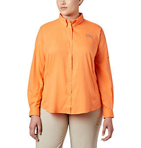 Women's PFG Tamiami™ II Long Sleeve Shirt - Plus Size