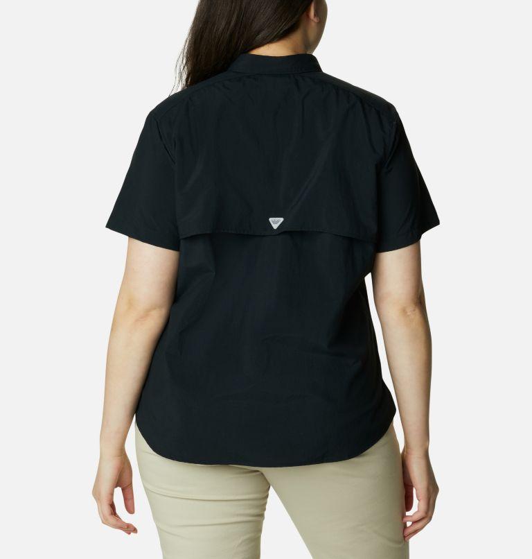 Womens Bahama™ SS | 010 | 3X Women's PFG Bahama™ Short Sleeve - Plus Size, Black, back