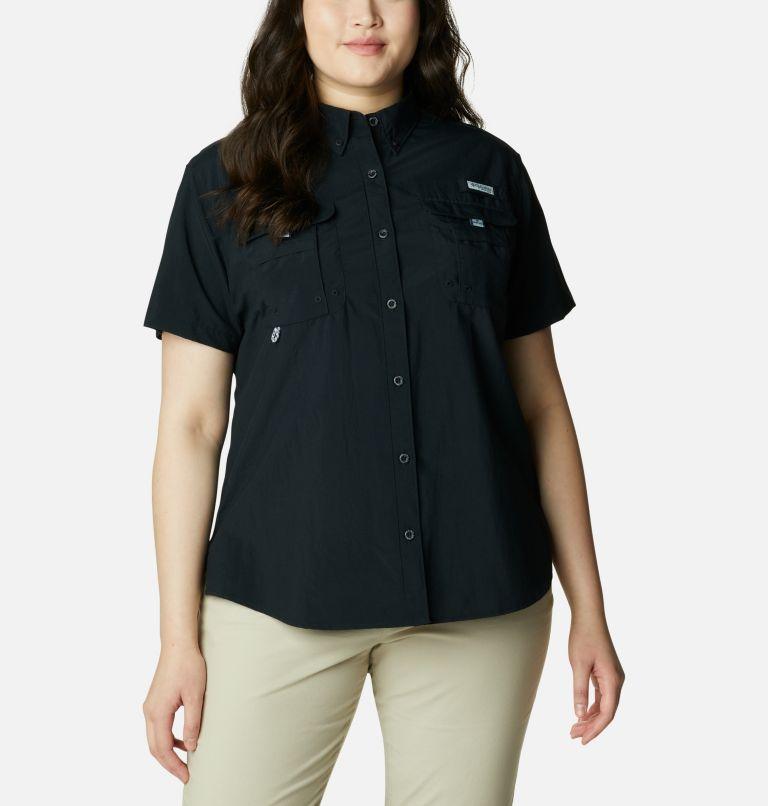 Womens Bahama™ SS | 010 | 3X Women's PFG Bahama™ Short Sleeve - Plus Size, Black, front