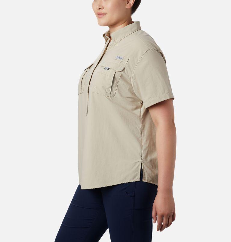 Womens Bahama™ SS   160   3X Women's PFG Bahama™ Short Sleeve - Plus Size, Fossil, a2