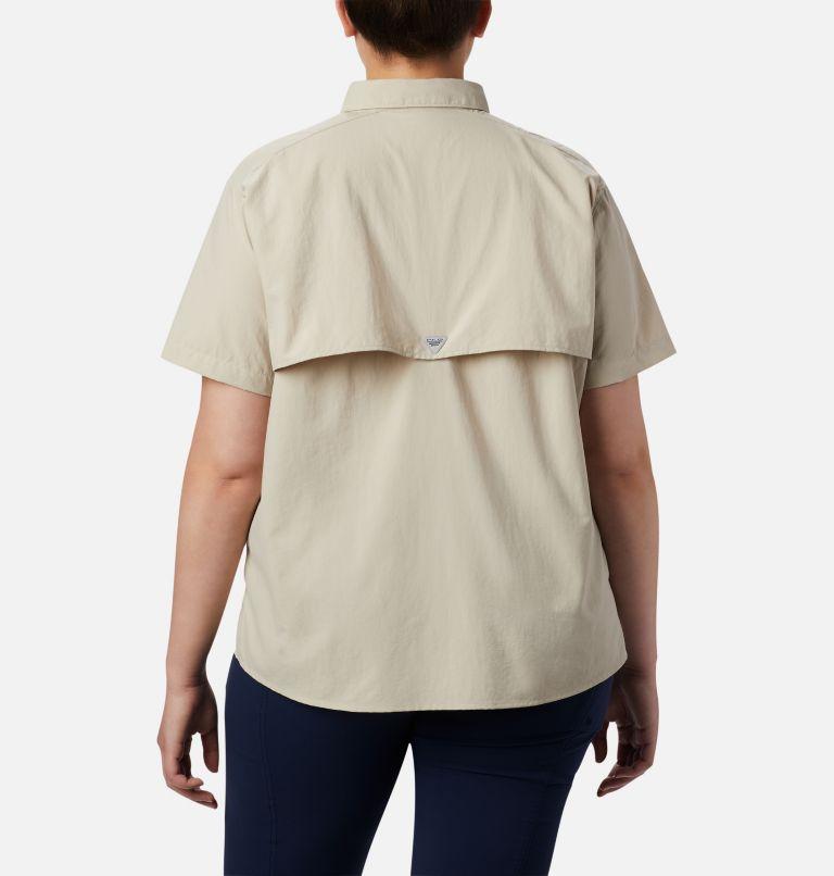 Womens Bahama™ SS | 160 | 1X Women's PFG Bahama™ Short Sleeve - Plus Size, Fossil, back