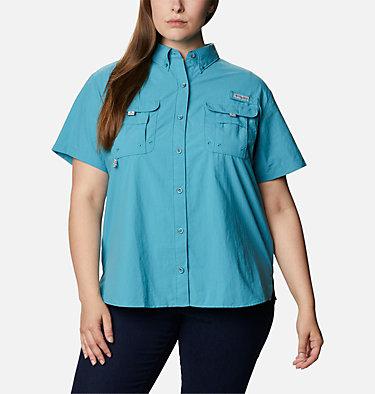 Women's PFG Bahama™ Short Sleeve - Plus Size Womens Bahama™ SS | 424 | 1X, Shasta, front