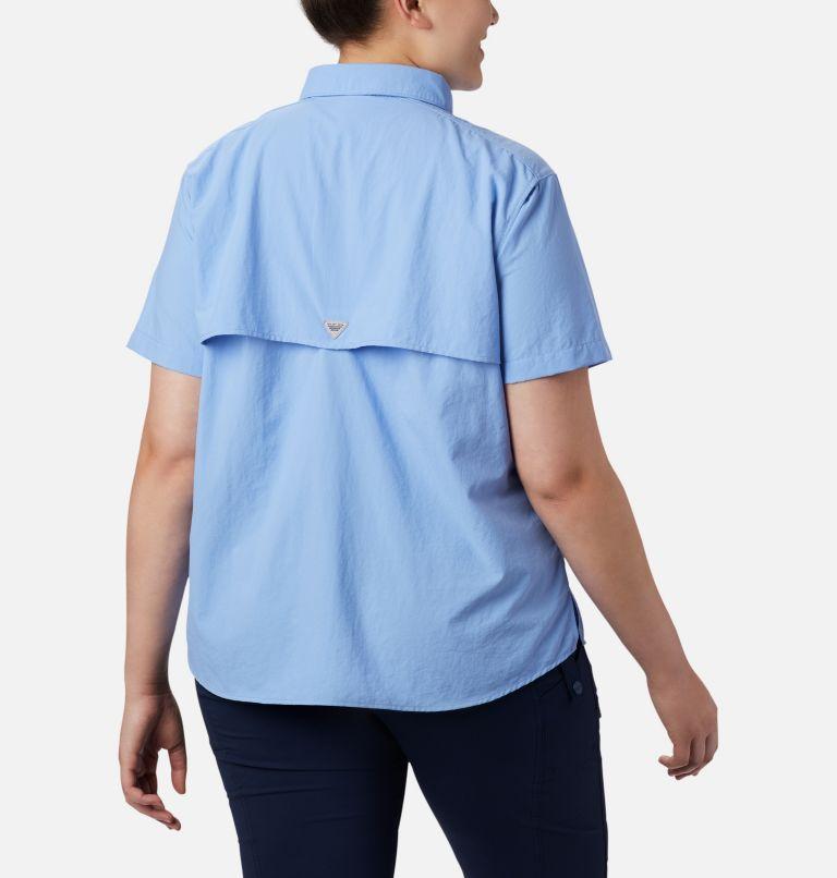 Womens Bahama™ SS | 450 | 1X Women's PFG Bahama™ Short Sleeve - Plus Size, White Cap, back