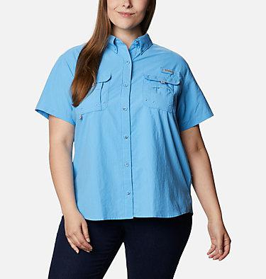 Women's PFG Bahama™ Short Sleeve - Plus Size Womens Bahama™ SS | 424 | 1X, Yacht, front