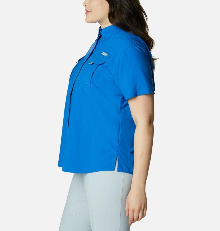 Womens Bahama™ SS   487   1X Women's PFG Bahama™ Short Sleeve - Plus Size, Vivid Blue, a1