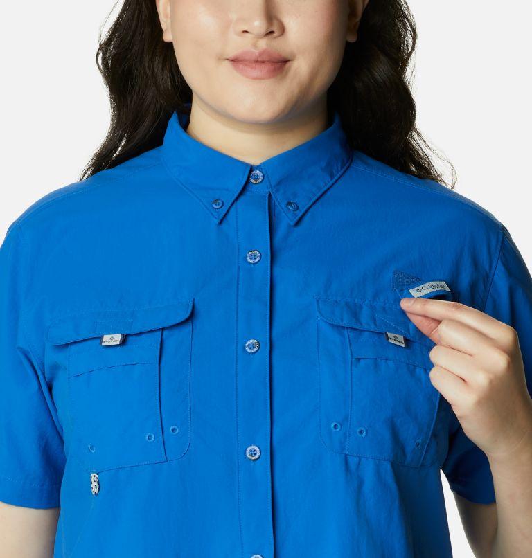 Womens Bahama™ SS   487   1X Women's PFG Bahama™ Short Sleeve - Plus Size, Vivid Blue, a2