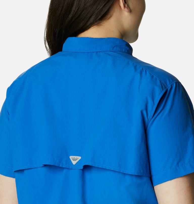 Womens Bahama™ SS   487   1X Women's PFG Bahama™ Short Sleeve - Plus Size, Vivid Blue, a3