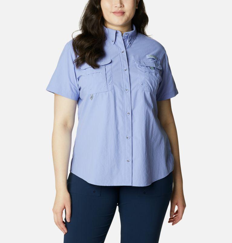 Womens Bahama™ SS | 526 | 1X Women's PFG Bahama™ Short Sleeve - Plus Size, Fairytale, front