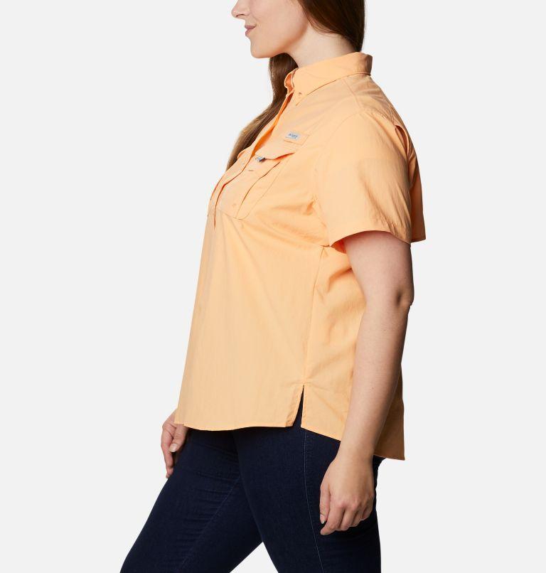 Womens Bahama™ SS   856   2X Women's PFG Bahama™ Short Sleeve - Plus Size, Light Juice, a1