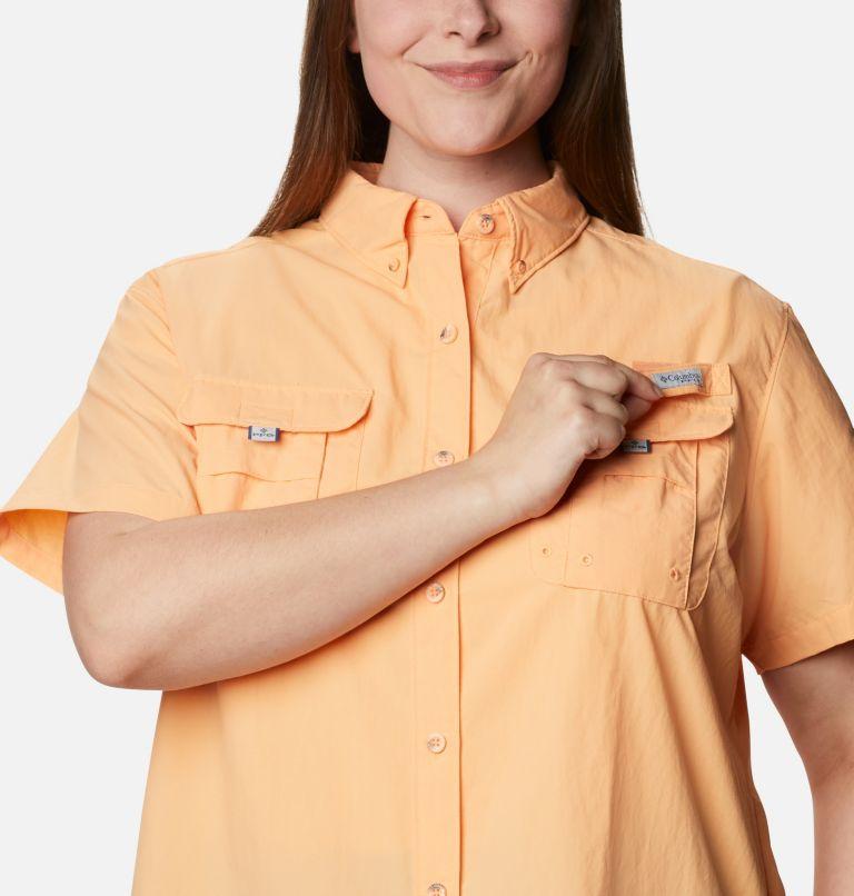 Womens Bahama™ SS   856   2X Women's PFG Bahama™ Short Sleeve - Plus Size, Light Juice, a2