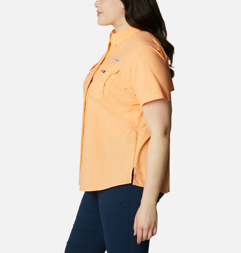 Womens Bahama™ SS | 873 | 2X Women's PFG Bahama™ Short Sleeve - Plus Size, Bright Nectar, a1