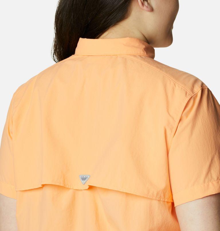 Womens Bahama™ SS | 873 | 2X Women's PFG Bahama™ Short Sleeve - Plus Size, Bright Nectar, a3