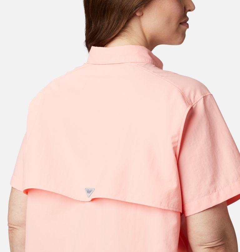 Womens Bahama™ SS | 884 | 3X Women's PFG Bahama™ Short Sleeve - Plus Size, Tiki Pink, a3