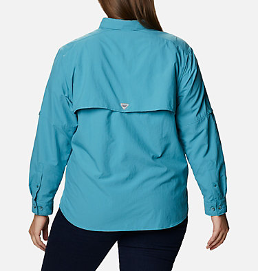 Women's PFG Bahama™ Long Sleeve - Plus Size Womens Bahama™ LS | 475 | 3X, Shasta, back