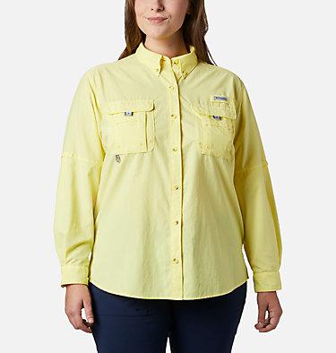Women's PFG Bahama™ Long Sleeve - Plus Size Womens Bahama™ LS | 475 | 3X, Sunnyside, front