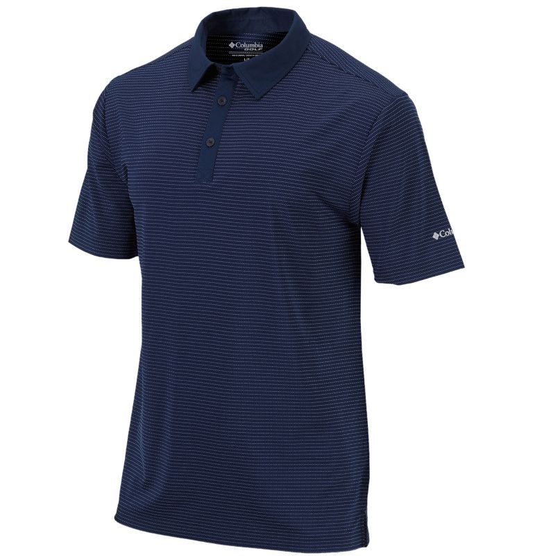 Sunday Golf Polo | 464 | XL Men's Omni-Wick™ Sunday Polo, Collegiate Navy, front