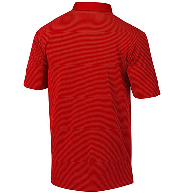 Men's Omni-Wick™ Sunday Polo Sunday Golf Polo | 464 | S, Intense Red, back