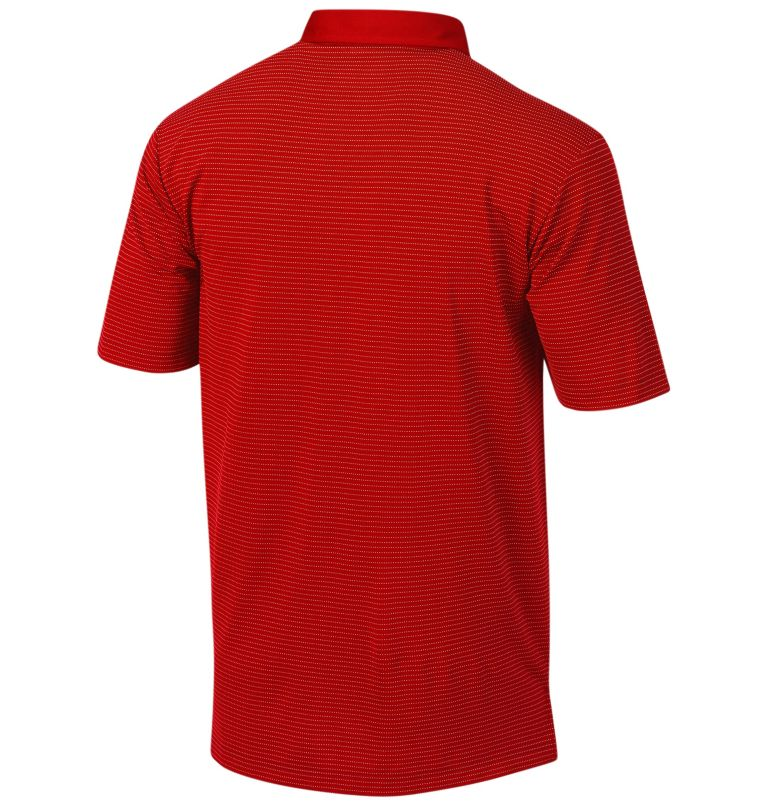 Men's Sunday Golf Polo | 610 | S Men's Omni-Wick™ Sunday Polo, Intense Red, back
